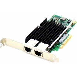 AddOn HP 716591-B21 Comparable 10Gbs Dual Open RJ-45 Port 100m PCIe x