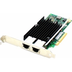 AddOn HP 700699-B21 Comparable 10Gbs Dual Open RJ-45 Port 100m PCIe x