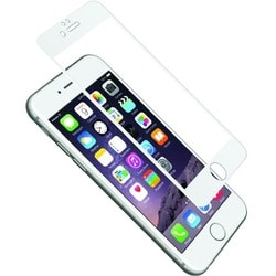Cygnett AeroCurve Tempered Glass Aluminium Border iPhone 6 - White Wh
