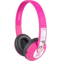Sakar Kids Bluetooth Kids Safe Headphones Hello Kitty