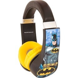Sakar Kids Batman Kids Safe Friendly Headphones