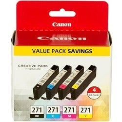 Canon Original Ink Cartridge - Cyan, Magenta, Yellow, Black