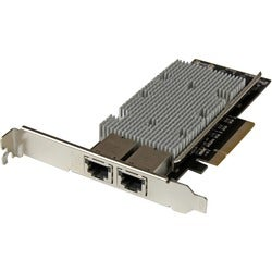 StarTech.com 2-Port PCI Express 10GBase-T Ethernet Network Card - 10G