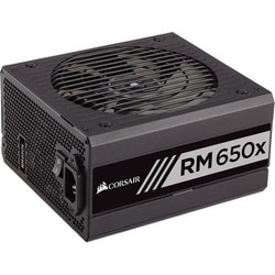 Corsair RMx Series RM650x - 650 Watt 80 PLUS Gold Certified Fully Mod