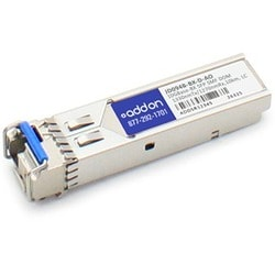 AddOn HP JD094B Compatible TAA Compliant 10GBase-BX SFP Transceiver (