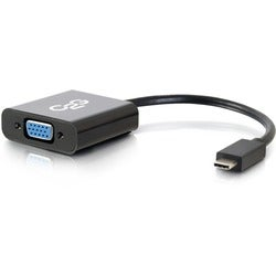 C2G USB-C to VGA Video Adapter-Black