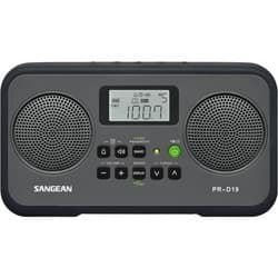 Sangean PR-D19 Clock Radio - 1.4 W RMS - Stereo|https://ak1.ostkcdn.com/images/products/etilize/images/250/1032042997.jpg?impolicy=medium
