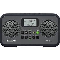 sangean prd19 clock radio 14 w rms stereo