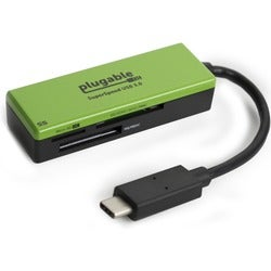 Plugable USB Type-C Flash Memory Card Reader