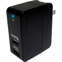 Plugable Power 2015 2-Port USB Smart Travel Charger (20W)