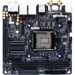Gigabyte Ultra Durable GA-H170N-WIFI Desktop Motherboard - Intel H170