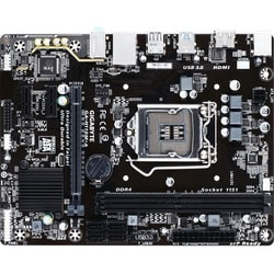 Gigabyte Ultra Durable GA-H110M-A Desktop Motherboard - Intel H110 Ch
