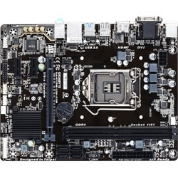 Gigabyte Ultra Durable GA-H110M-S2H GSM Desktop Motherboard - Intel H