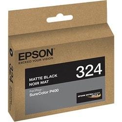 Epson UltraChrome 324 Ink Cartridge - Matte Black