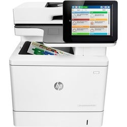HP LaserJet M577f Laser Multifunction Printer - Color - Plain Paper P