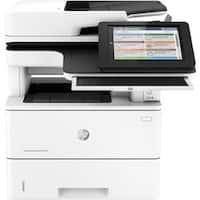 HP LaserJet M527c Laser Multifunction Printer - Monochrome - Plain Pa