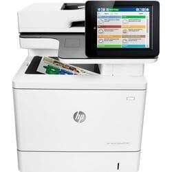 HP LaserJet M577c Laser Multifunction Printer - Color - Plain Paper P