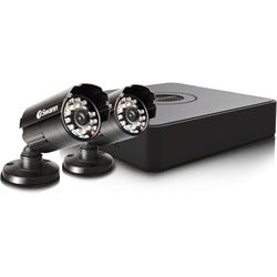 Swann Compact Security System - 4 Channel Digital Video Recorder & 2