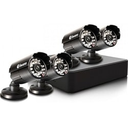 Swann Compact Security System - 4 Channel Digital Video Recorder & 4