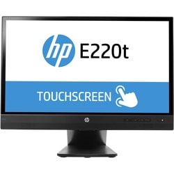 Hp EliteDisplay E220t 21.5-inch Touch Monitor (ENERGY STAR) Black - K