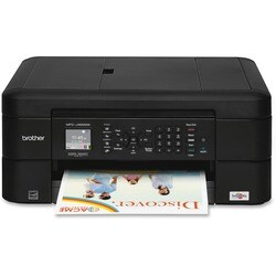 Brother Work Smart MFC-J460DW Inkjet Multifunction Printer - Color -