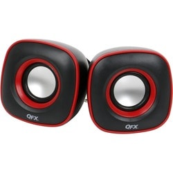 QFX CS-256 - 2.0 Speaker - 1 Pack - Black