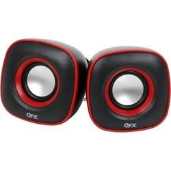 QFX CS-256 - 2.0 Speaker - 1 Pack - Black