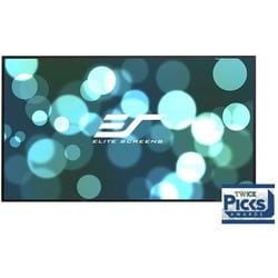 Elite Screens Aeon CineGrey 3D AR110DHD3 Fixed Frame Projection Scree