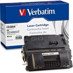 Verbatim Remanufactured Toner Cartridge - Alternative for HP (CE390X)