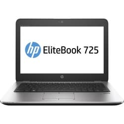 "HP EliteBook 725 G3 12.5"" Touchscreen Notebook - AMD A-Series A10-870"