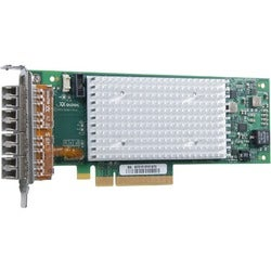 QLogic Enhanced Gen 5, Quad-Port, 16Gbps Fibre Channel-to-PCIe Adapte