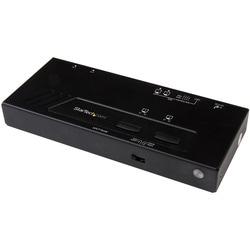 StarTech.com 2x2 HDMI Matrix Switch - 4K with Fast Switching, Auto-se
