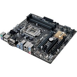 Asus Q170M-C/CSM Desktop Motherboard - Intel Chipset - Socket H4 LGA-