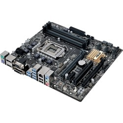 Asus Q170M-C/CSM Desktop Motherboard - Intel Q170 Chipset - Socket H4
