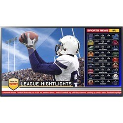 """Viewsonic 55'' (54.6"""" Viewable) Full HD Direct-lit LED Commercial Dis"""