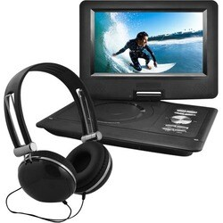 """Ematic EPD116 Portable DVD Player - 10"""" Display - 1024 x 600 - Black"""