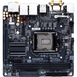 Gigabyte Ultra Durable GA-Z170N-WIFI Desktop Motherboard - Intel Z170