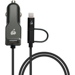 IOGEAR DuoLinq 2-in-1 Car Charger