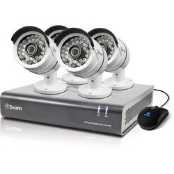 Swann DVR8-4600 - 8 Channel 1080p Digital Video Recorder & 4 x PRO-A8
