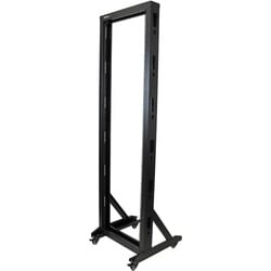 StarTech.com 2-Post Server Rack with Sturdy Steel Construction and Ca