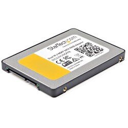 StarTech.com Dual M.2 NGFF SATA Adapter with RAID - 2x M.2 SSDs to 2.