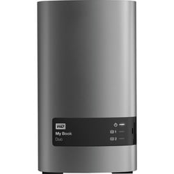 WD My Book Duo WDBLWE0160JCH DAS Array - 2 x HDD Supported - 16 TB In