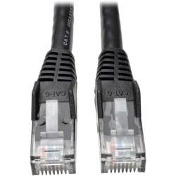 Tripp Lite 5ft Cat6 Gigabit Snagless Molded Patch Cable RJ45 M/M Blac