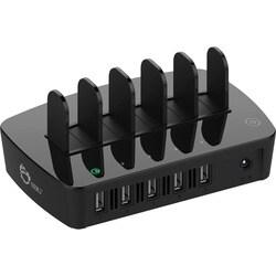 SIIG 5-Port Smart USB Charging Organizer Plus QC2.0 - Qualcomm Certif