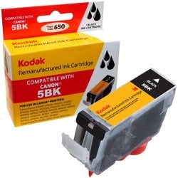 KODAK Remanufactured Ink Cartridge Compatible With Canon PGI5 / PGI5B