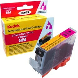 KODAK Remanufactured Ink Cartridge Compatible With Canon CLI8 / CLI8M|https://ak1.ostkcdn.com/images/products/etilize/images/250/1032801069.jpg?impolicy=medium
