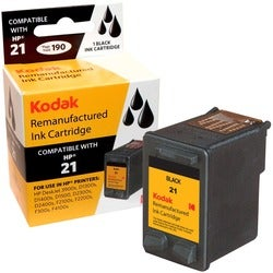 KODAK Remanufactured Ink Cartridge Compatible With HP 21 (C9351AN) Hi