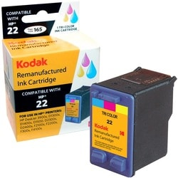 KODAK Remanufactured Ink Cartridge Compatible With HP 22 (C9352AN) Hi
