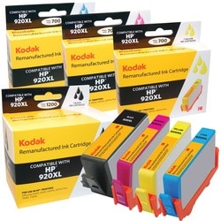 KODAK Remanufactured Ink Cartridge Combo Pack Compatible With HP 920X