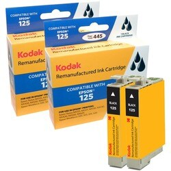 KODAK Remanufactured Ink Cartridge Combo Pack Compatible With Epson T